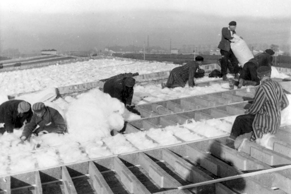 KARTOFFEL LAGERHALLE Birkenau, potato warehouse