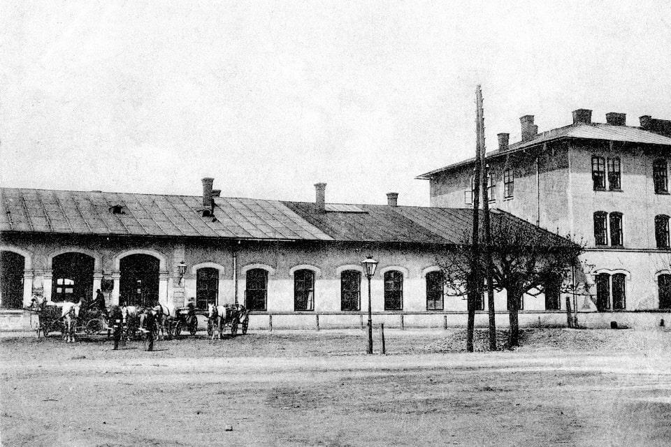 Oswiecim train station