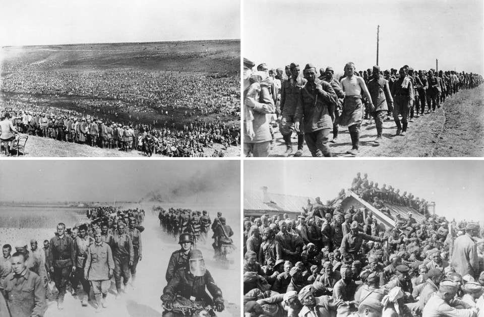 The largest encirclement of troops in military history