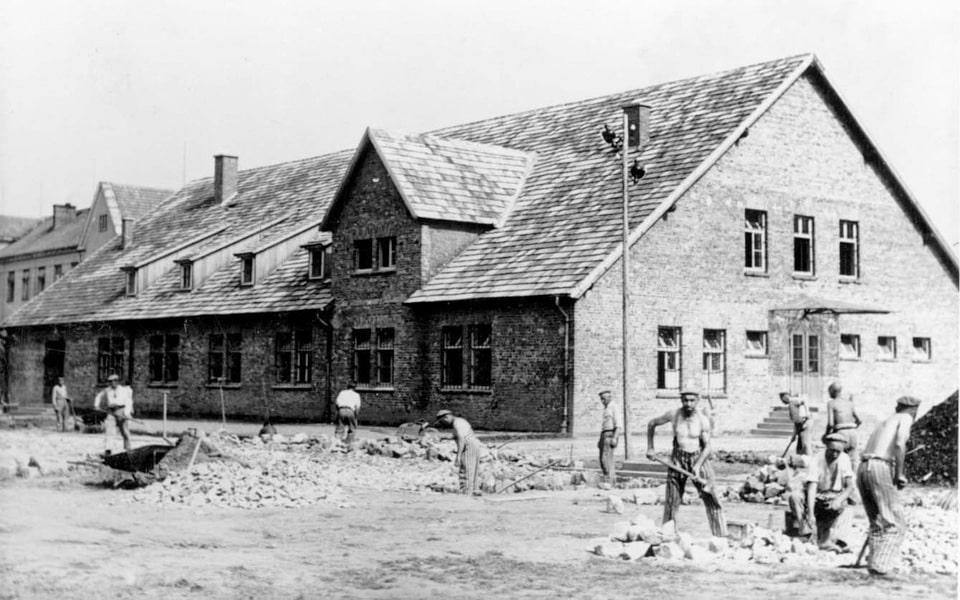 Auschwitz 1 bakery facility