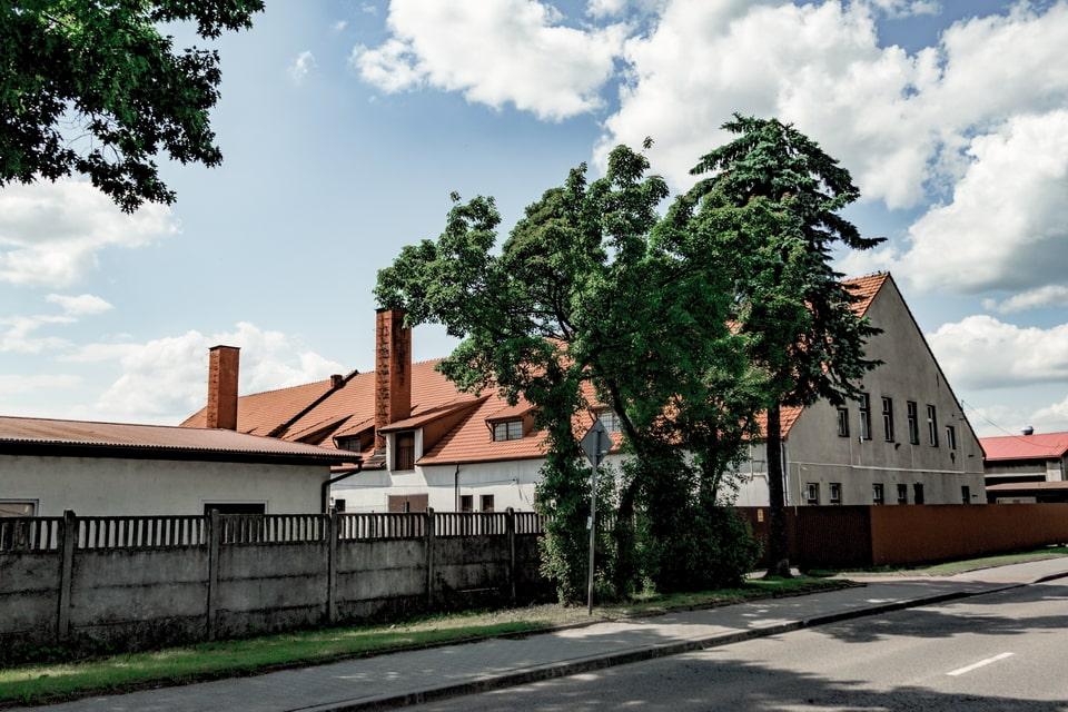 The bakery in Oswiecim