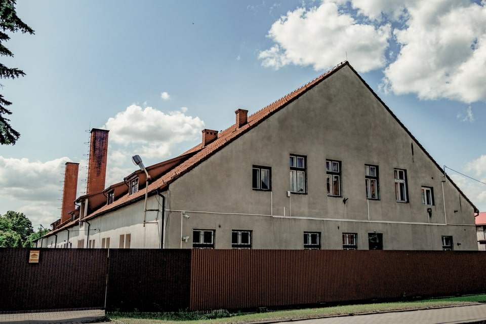 The front-side of the Auschwitz camp bakery