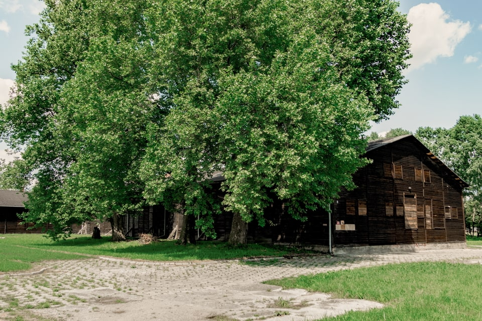 The largest wooden facility in cocnentration camps