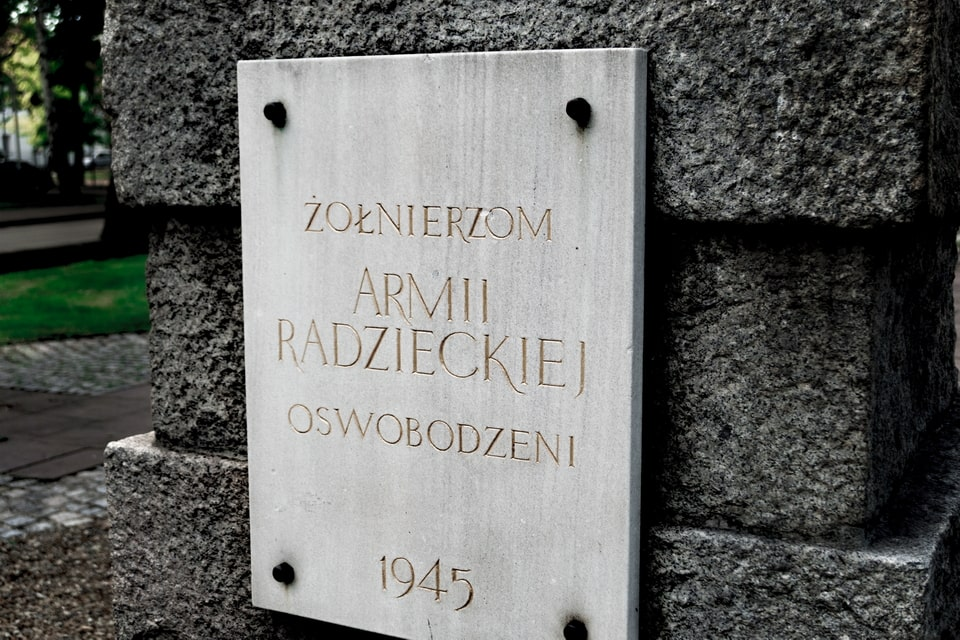 The monument to the prisoners of the Auschwitz