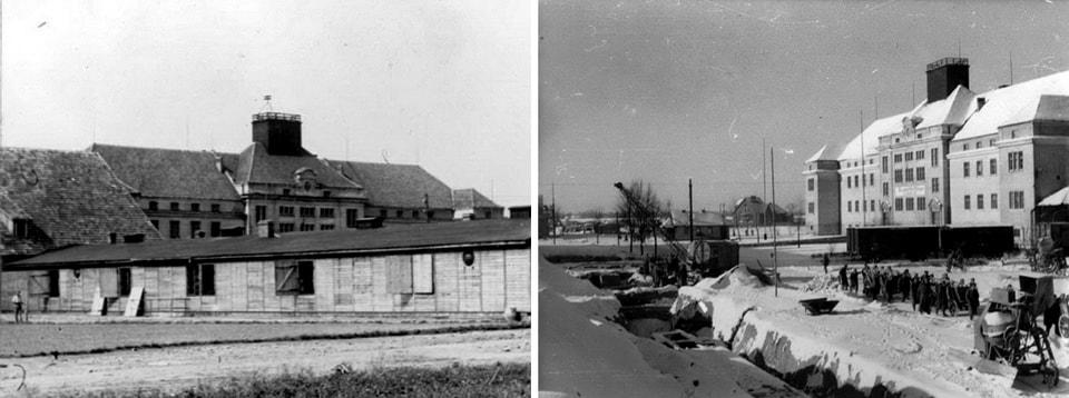 TRUPPENWIRTSCHAFTSLAGER Auschwitz camp