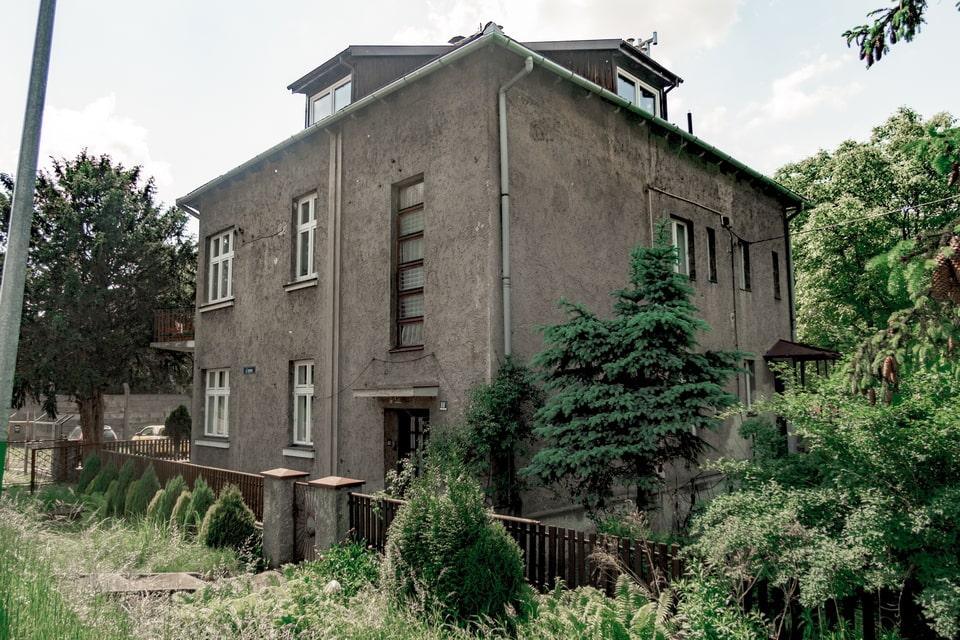 Hoss' villa in Oswiecim