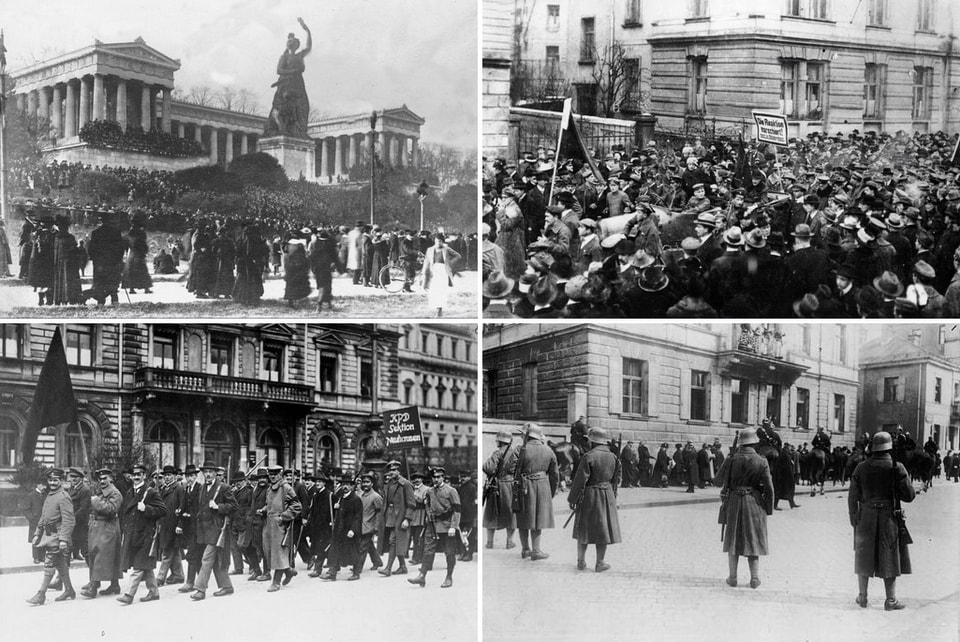 Civil victims of Munich during the Great War 1914-1918