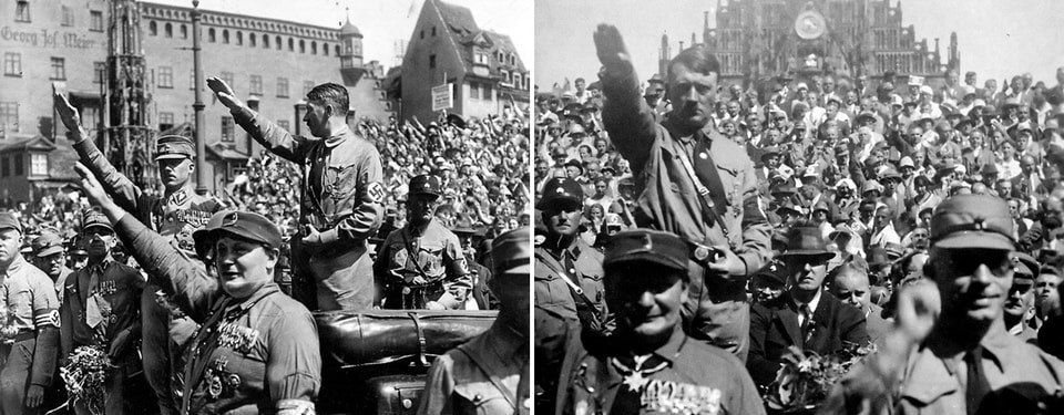 Nazi Party Rally in Nuremberg 1929