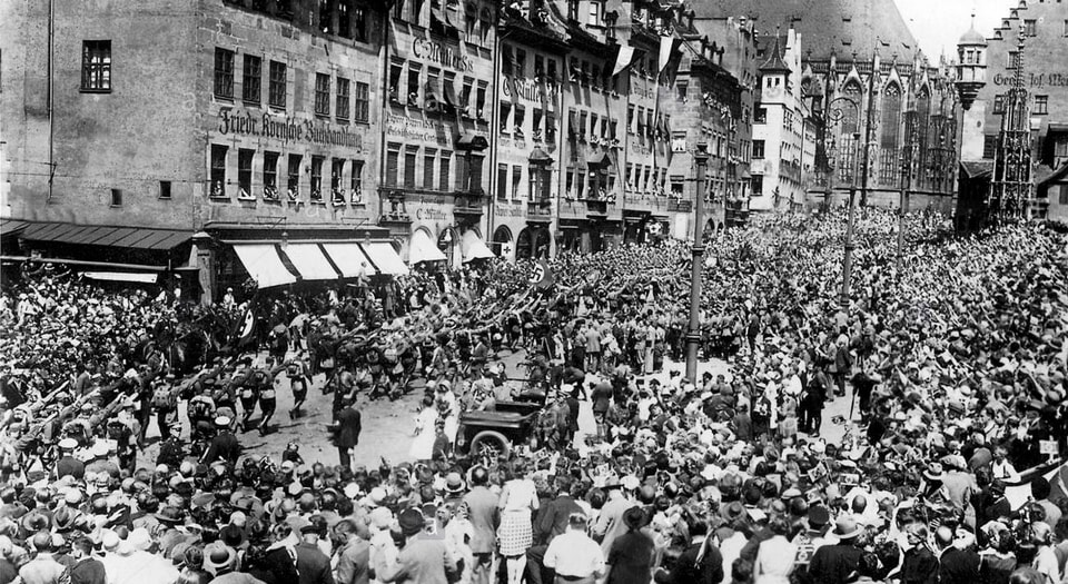 Nazi Party Rally 1929 Nuremberg