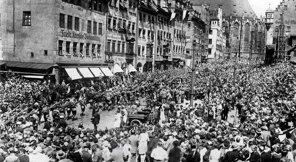 Nazi Party Rally 1929 Nuremberg