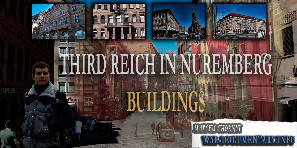 Nuremberg Nazi sites. Nuremberg ww2