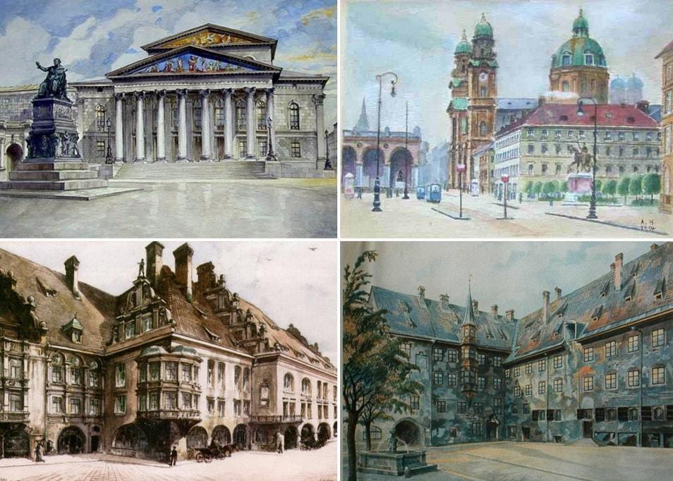HITLER GOES MUNICH. 1913-1914