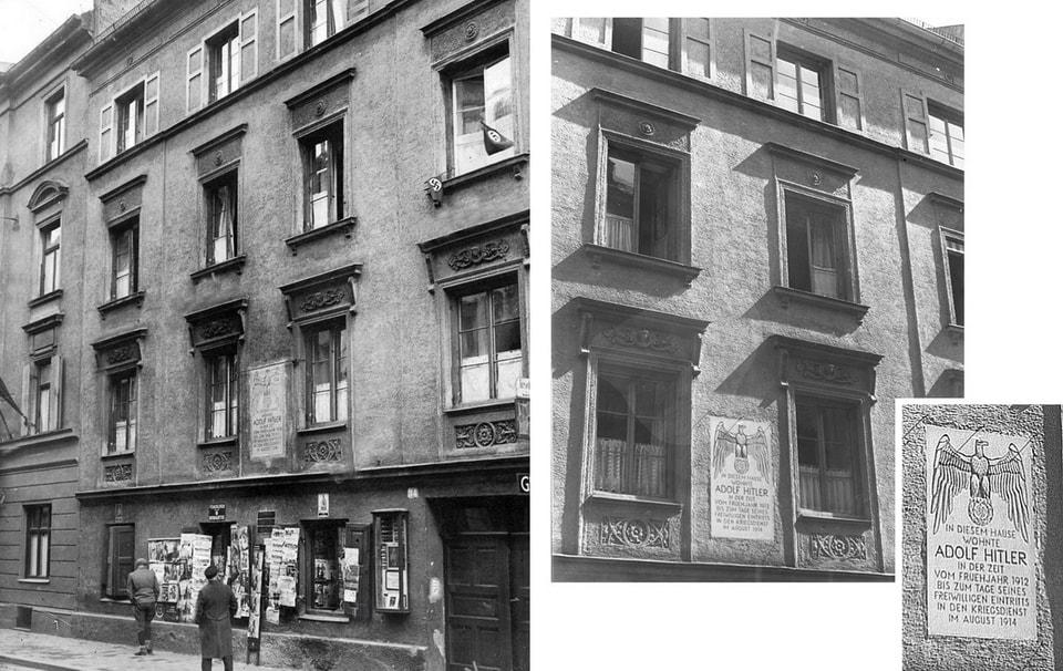 HITLER'S HOME 1913-1914