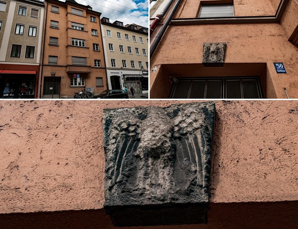 Schellingstrasse 50 Munich nazi movement office
