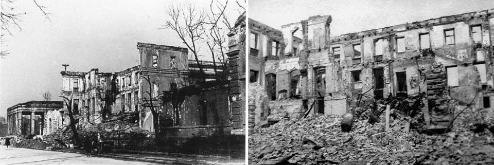 THE BRAUN HOUSE. THE FOURTH NSDAP HEADQUARTER in Munich
