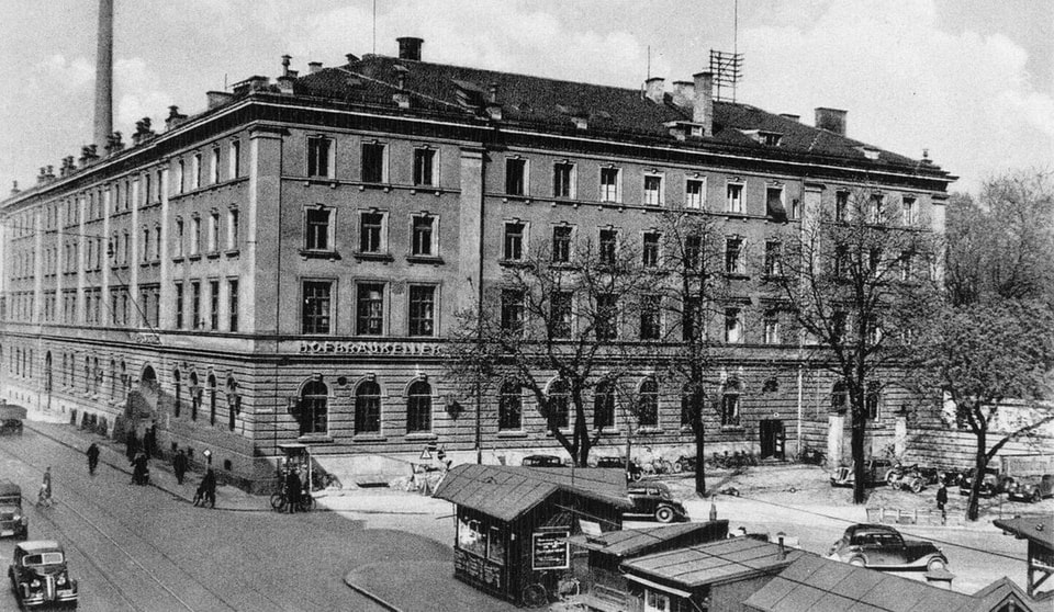 HOFBRAUKELLER historical photo