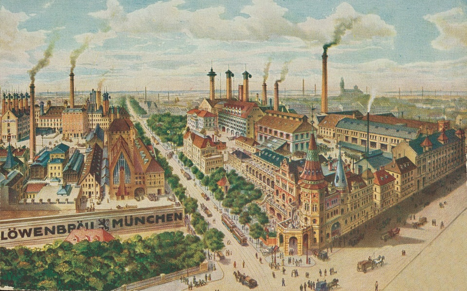LOWENBRAUKELLER brewery in Munich