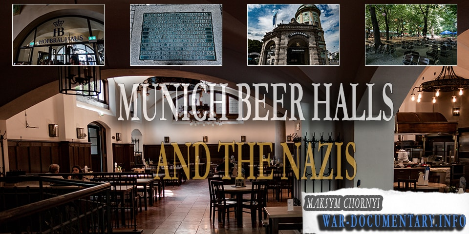 Nazi beer halls in Munich