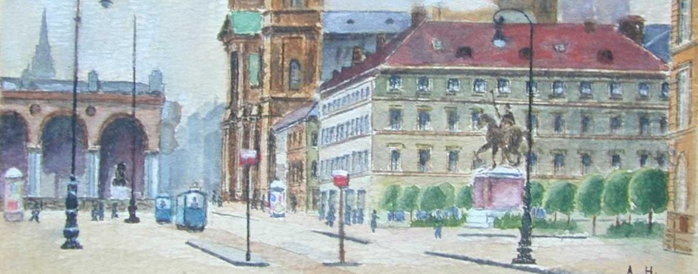 Munich locations and origins of NSDAP