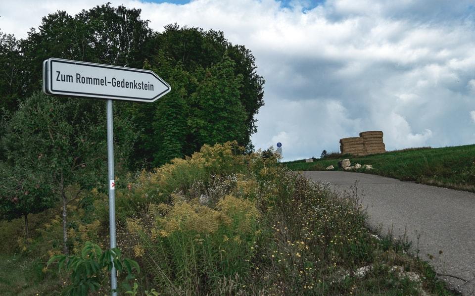 'Erwin-Rommel-Steige' (Road of Erwin Rommel).