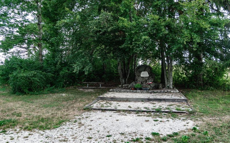 'Erwin Rommel Gedenkstein' (Erwin Rommel Memorial site)