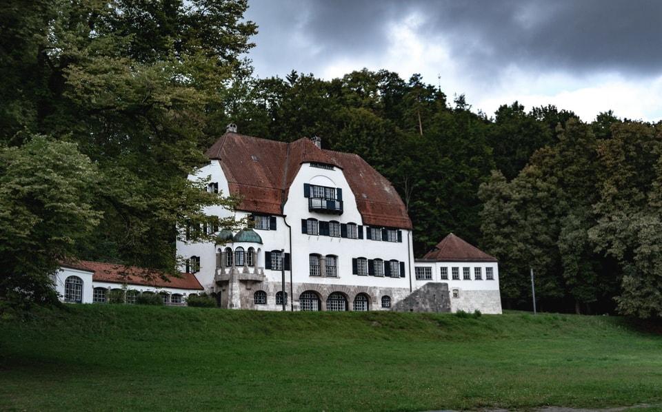 ERWIN ROMMEL'S HOME IN HERRLINGEN