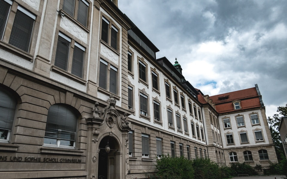 WAGNER SCHULE and military hiospital Ulm