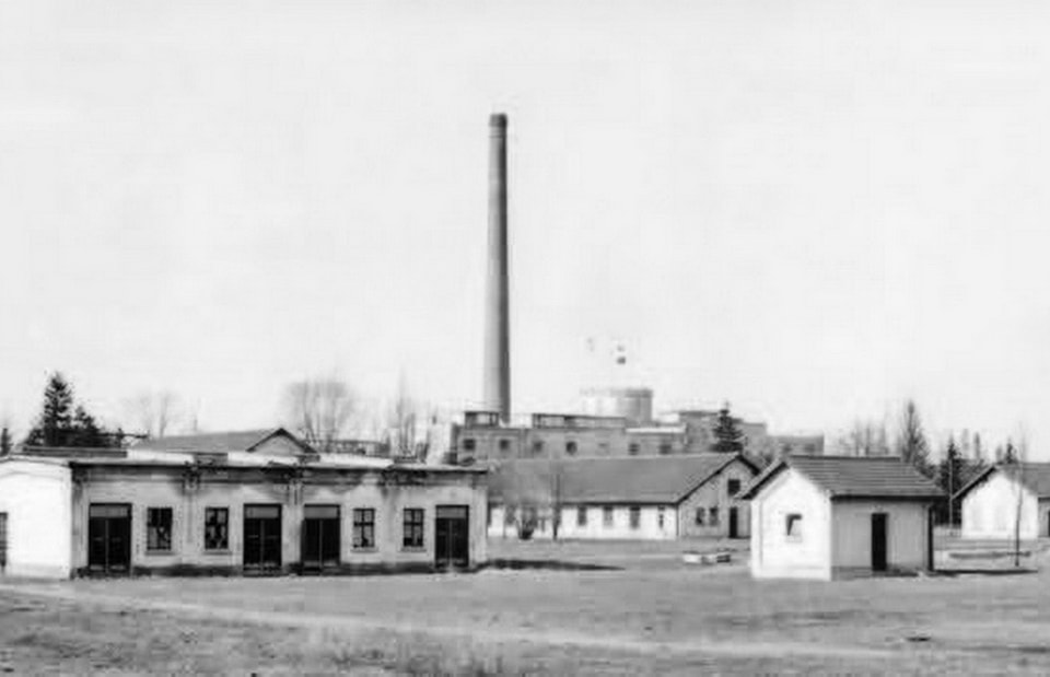 MUNITION FACTORY 1915 in Dachau