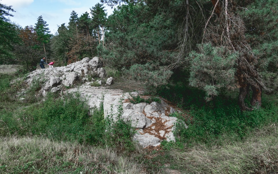 THE RUINS OF THE BOMB-SHELTER Sperrkreis 2