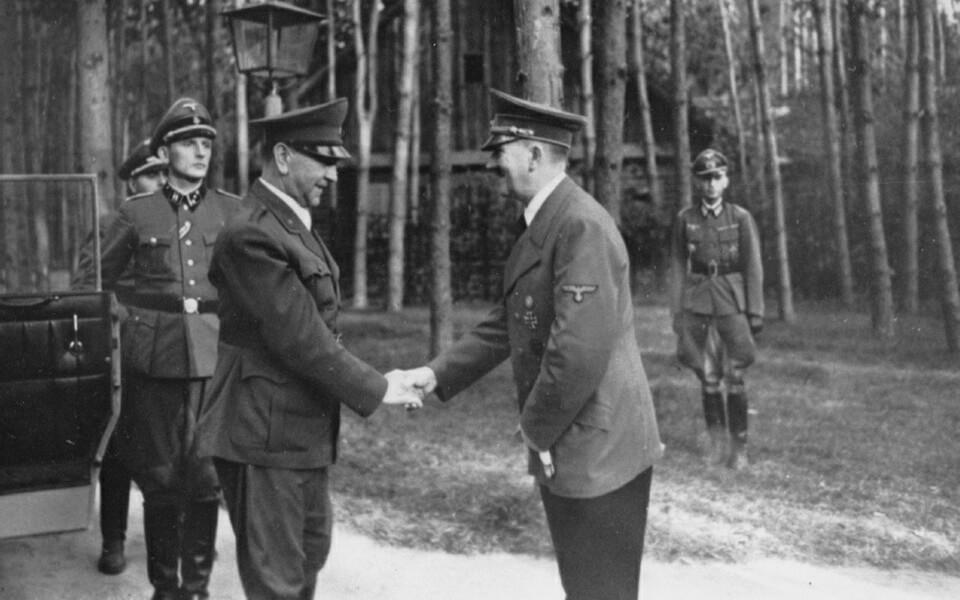 Ante pavelic Hitler Wehrwolf Ukraine