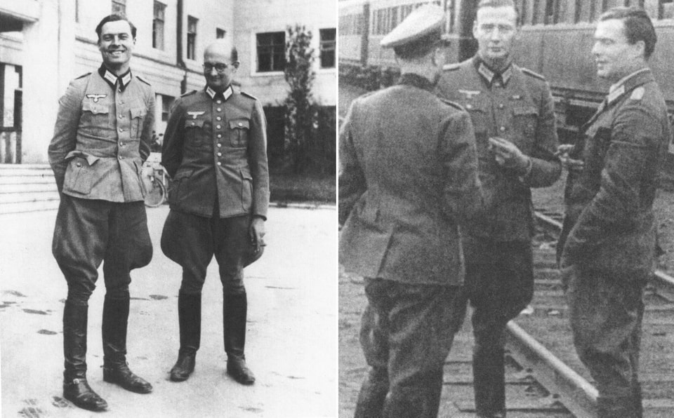 Claus Von Steuffenberg in Vinnytsia city in Ukraine 1942