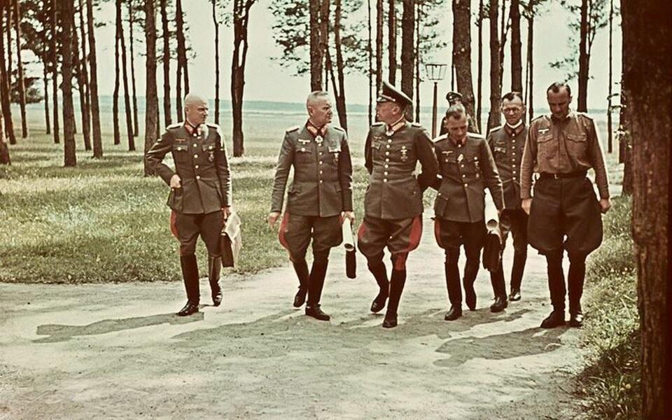 Franz halder in Wehrwold, Ukraine 1942