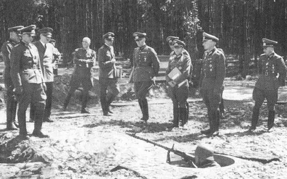 Hitler in Ukraine 1942