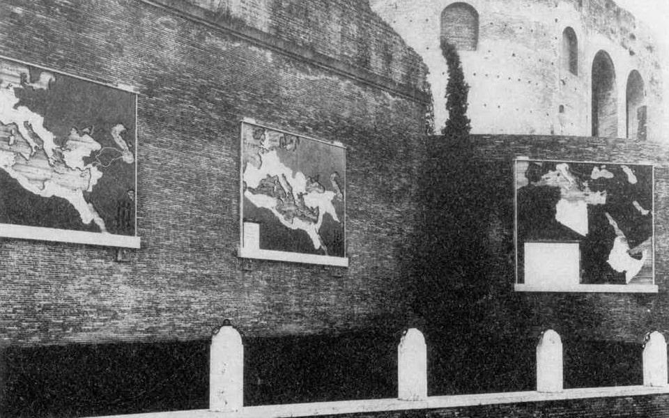 MAXENTIUS BASILIKA 1938