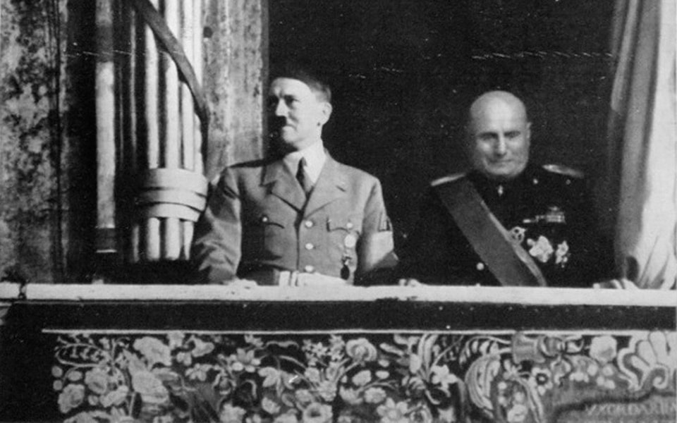 PALAZZO VENEZIA 1938 Hitler