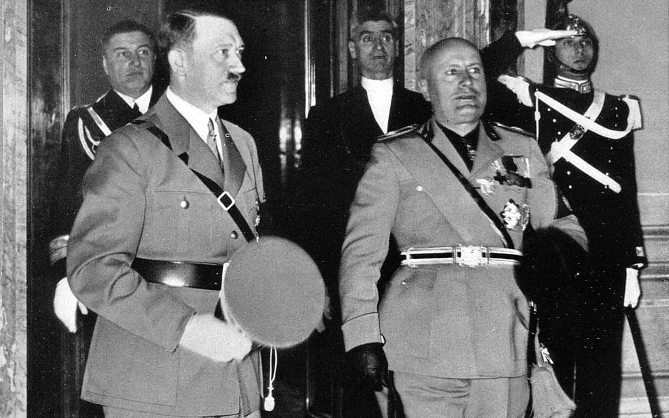 PALAZZO QUIRINALE HITLER AND MUSSOLINI