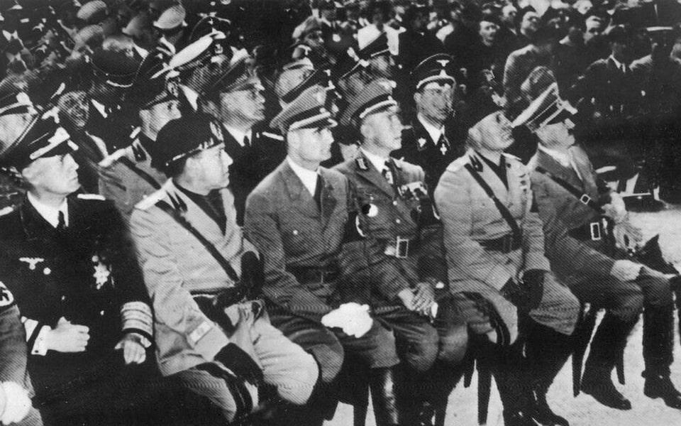 MAXENTIUS BASILIKA ROME MAy 6 1938