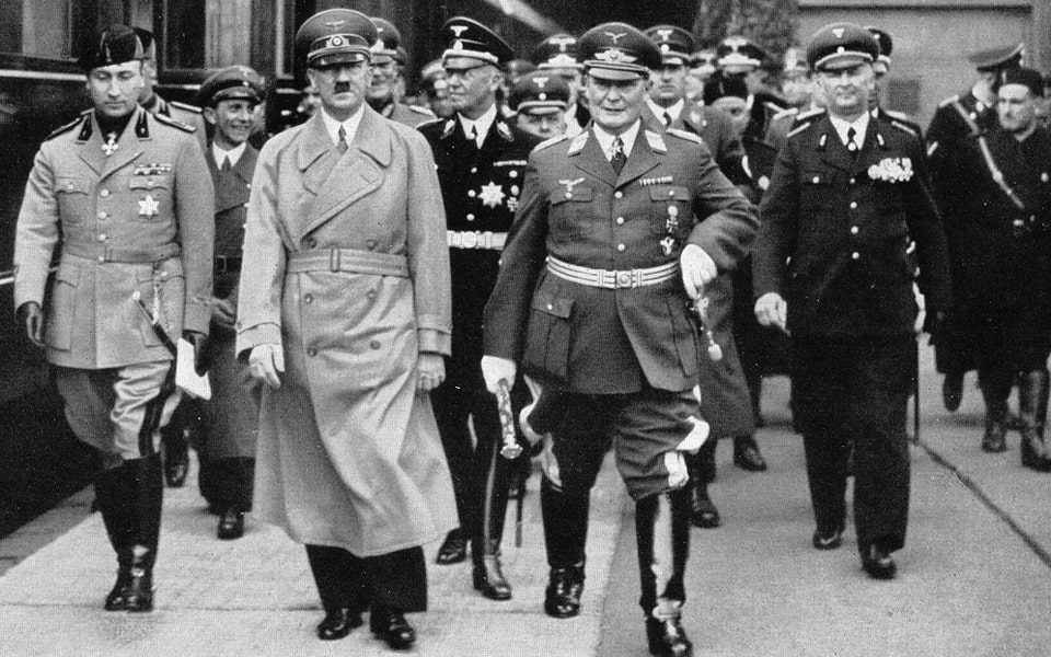 HITLER GOES ROME MAY 2, 1938
