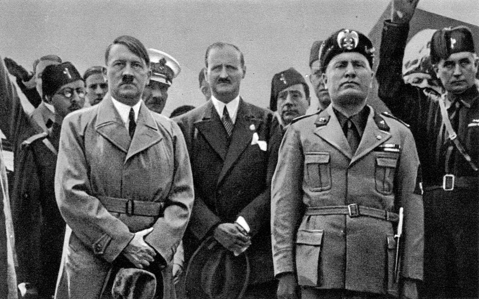 HITLER VISITS VENICE 1934