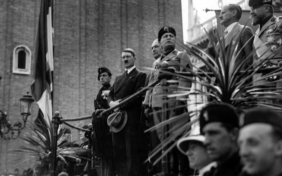 HITLER VISITS VENICE 1934 and MUSSOLINI