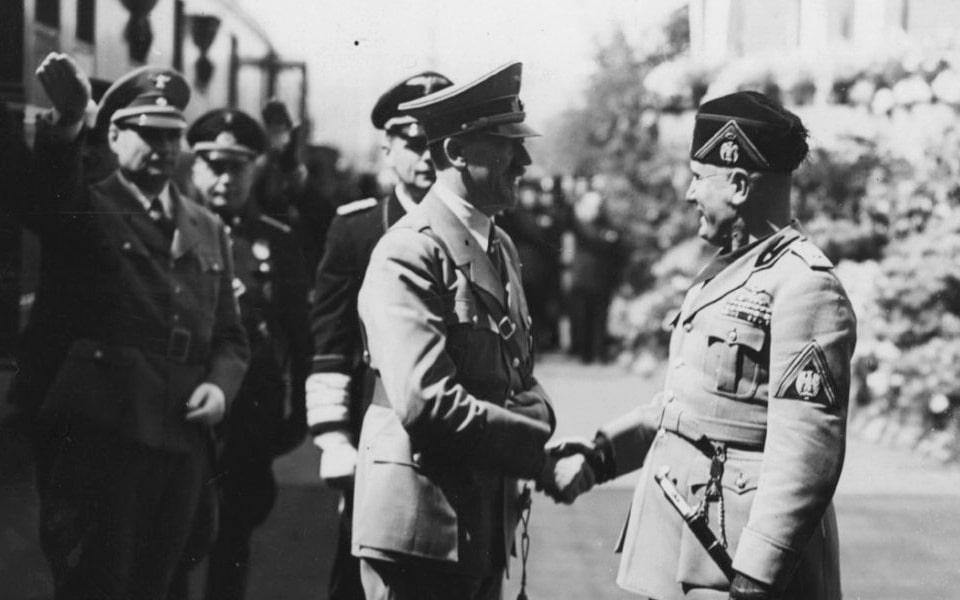 SANTA MARIA NOVELLA Hilter and Mussolini