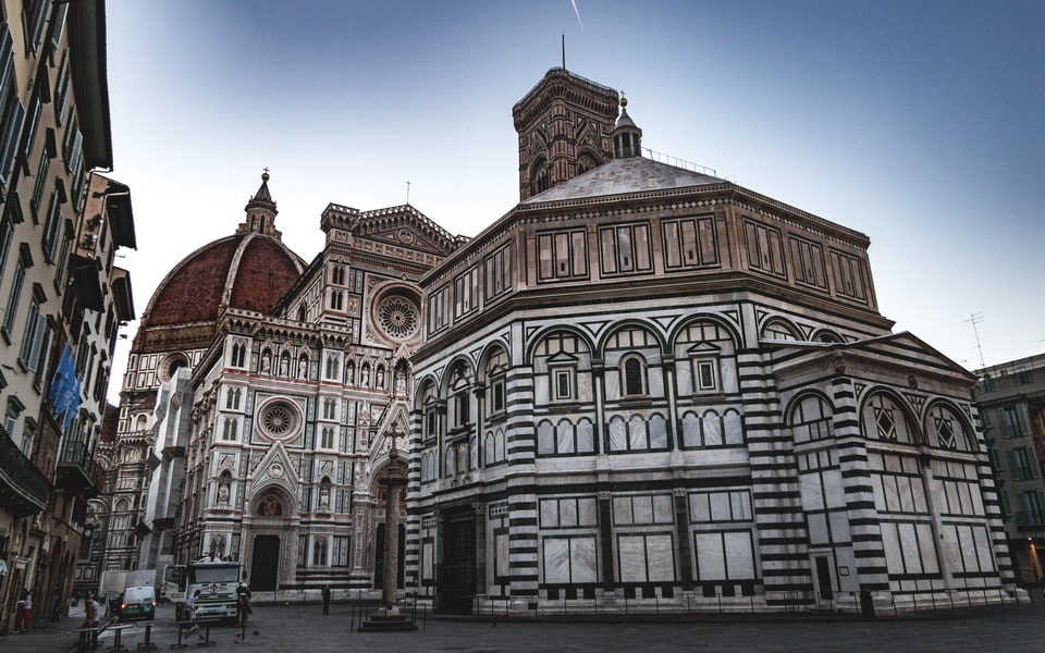 PIAZZA DEL DUOMO Florence today