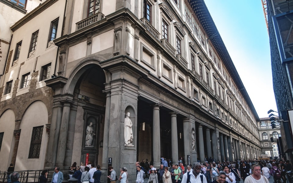 Ufizi Gallery in Florence