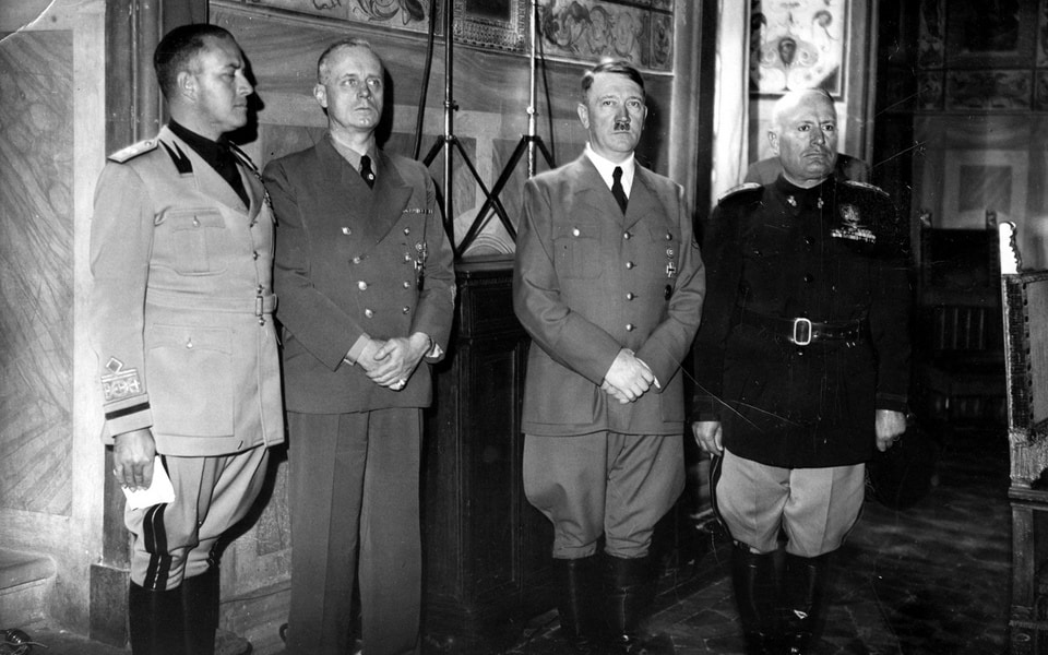 PALAZZO VECCHIO Hitler 1938