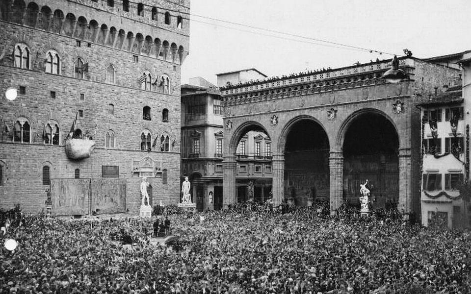 Piazza Della Signoria 1938