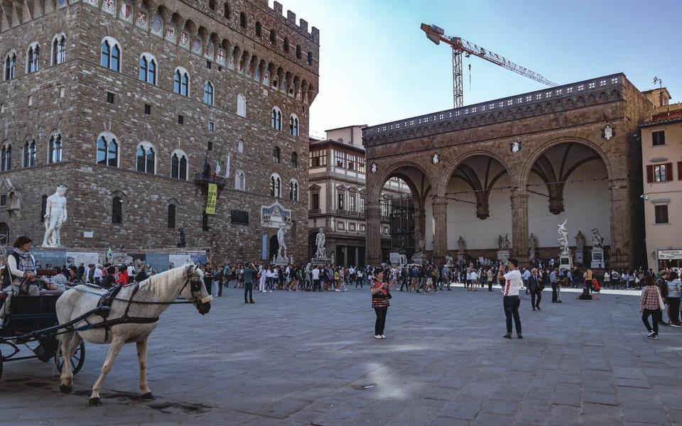 Piazza Della Signoria 2018