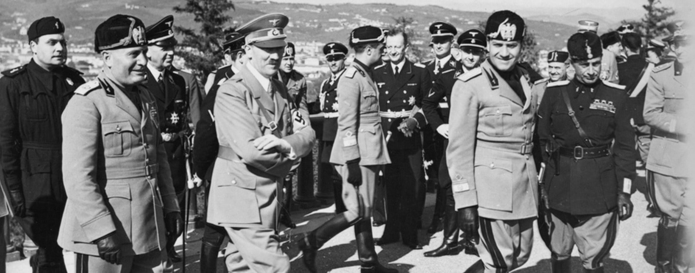 HITLER GOES TO FLORENCE