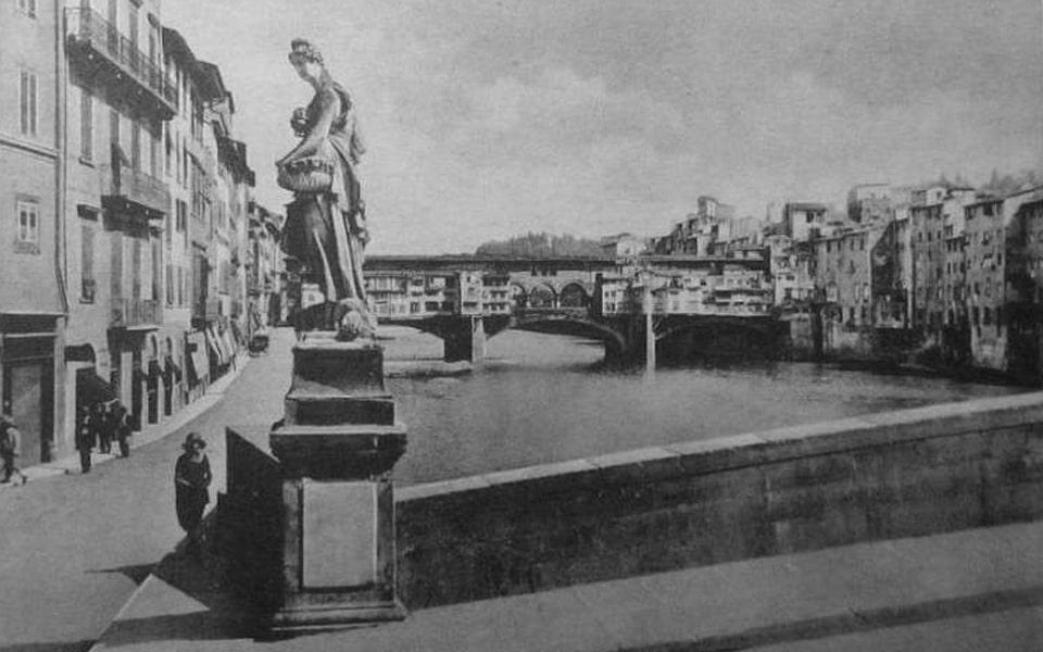 Ponte Vecchio bridge in 1938
