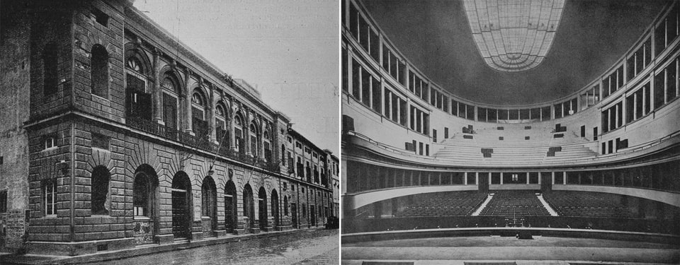 TEATRO COMUNALE 1930s Florence