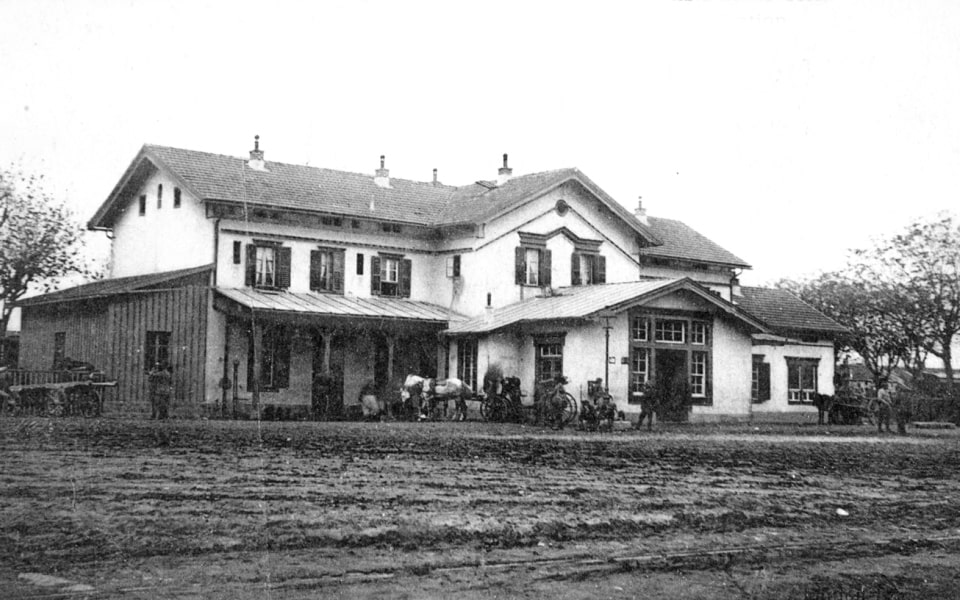 THE OLD TRAIN STATION of Thessaloniki